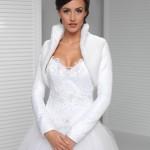 giacchino coprispalle sposa in pelliccia ecologica