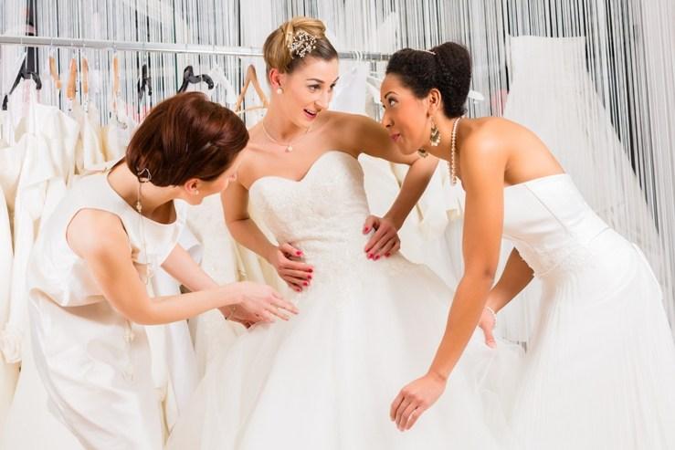 scelta dell'abito da sposa