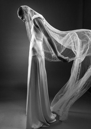 velo lungp da sposa
