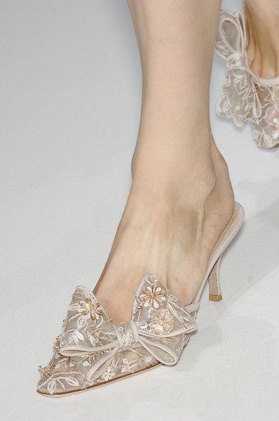 sabot mezzo tacco Valentino Couture