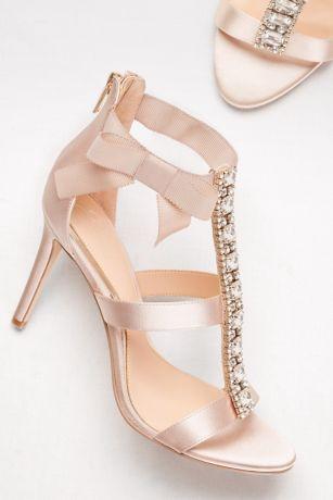 sandalo sposa rosa