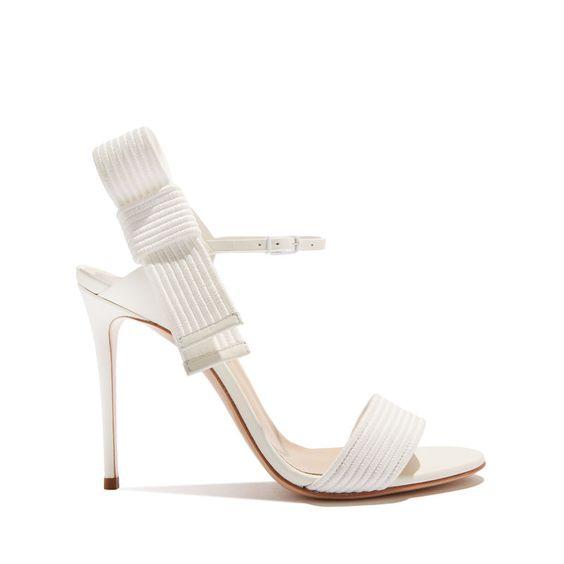 sandalo sposa bianco sergio rossi