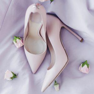 scarpe da sposa con tacco a stiletto