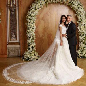 nozze di George Clooney ed Amal Alamuddin