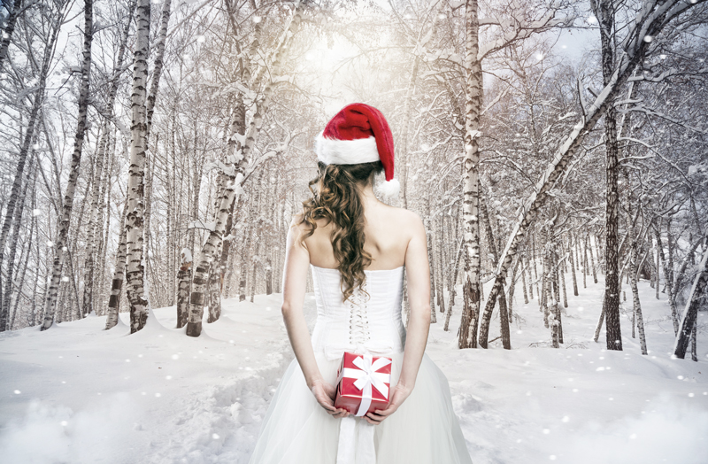 sposa natalizia