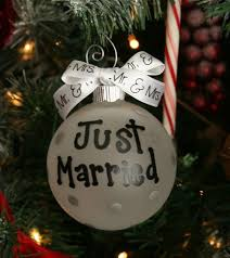 just married palla di natale