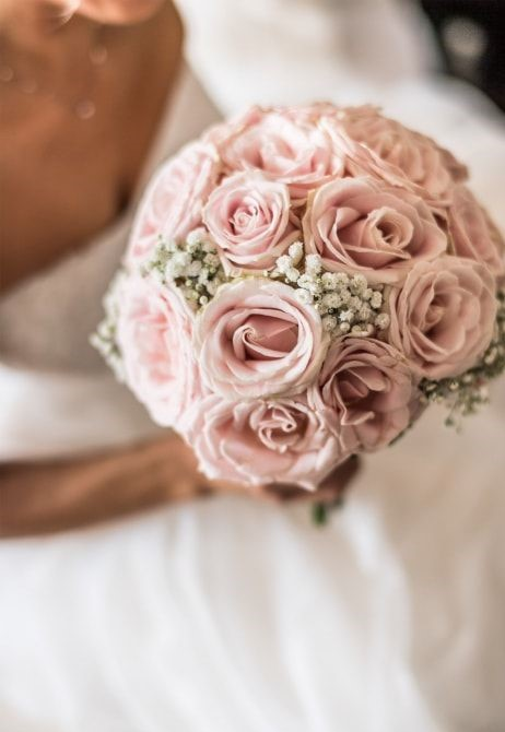bouquet da sposa di  rose