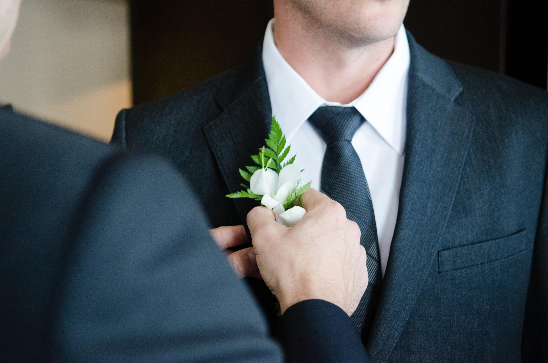 bottoniera sposo