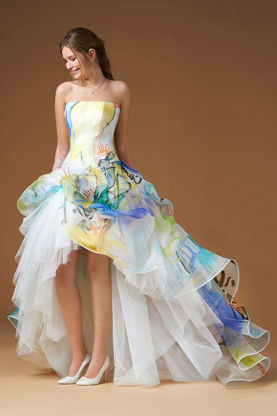 abito da sposa colorato atelier emè