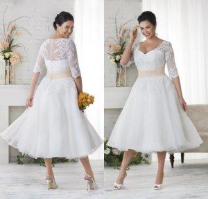 abito da sposa curvi stile anni cinquanta vintage