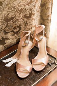 sandali rosa per damigella della sposa