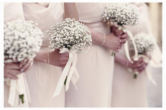 bouquet per damigelle della sposa