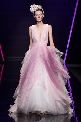 vestito da sposa rosa Blumarine collezione 2019