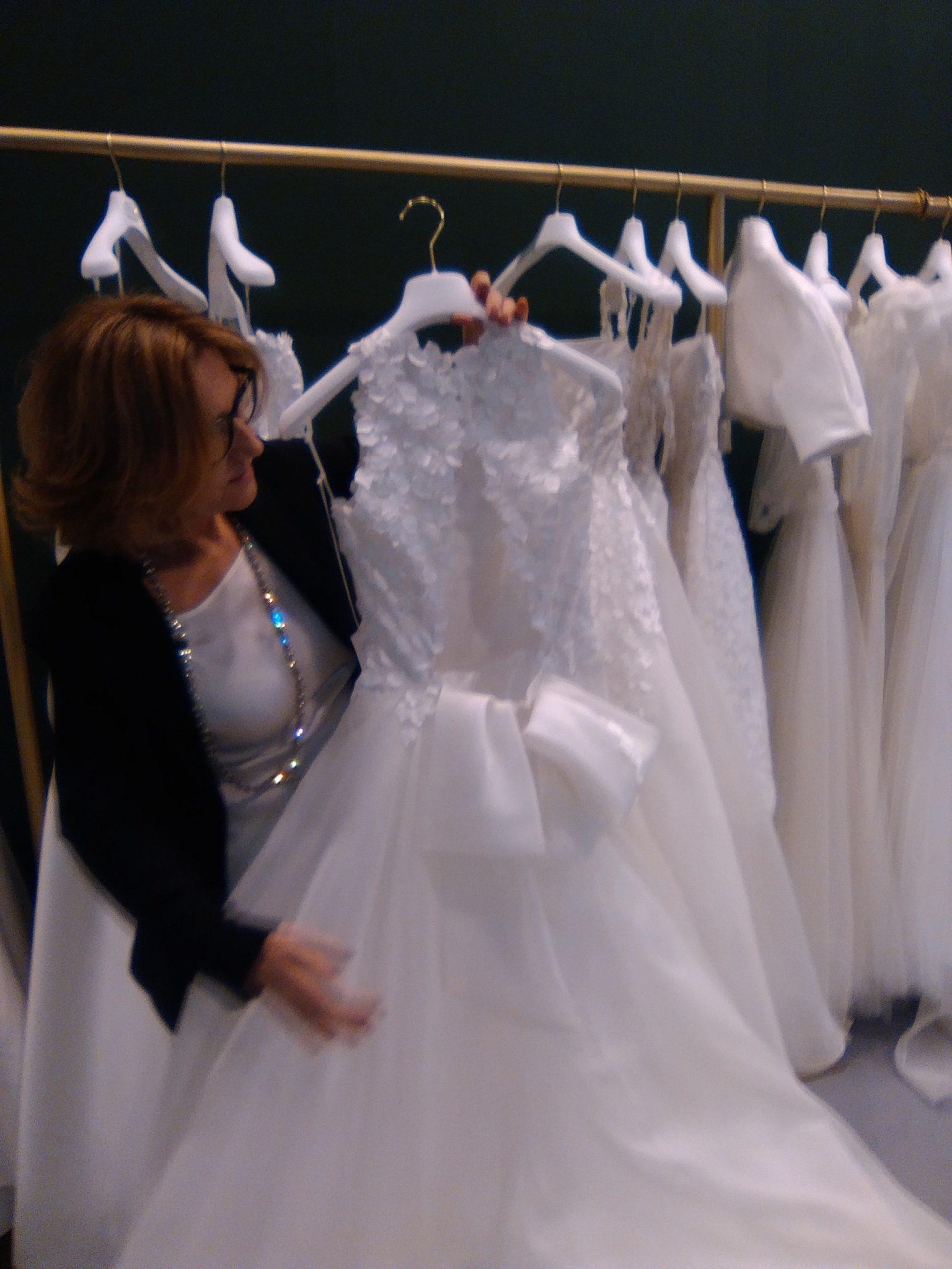 abito da sposa tosca spose collezione soffio 2019 particolare