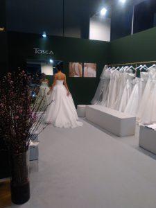 abito da sposa tosca Spose organza collezione Soffio 2019