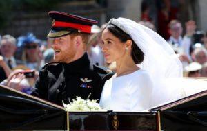 Royal Wedding Harry e Meghan Sposi in carrozza dopo la cerimonia