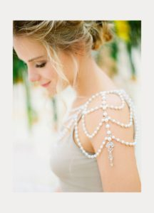 shoulder necklace da sposa