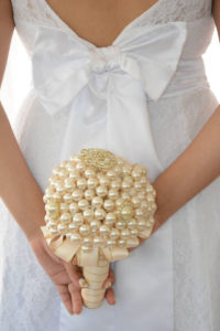 bouquet da sposa in perle