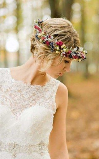 hairstyle sposa boho chic