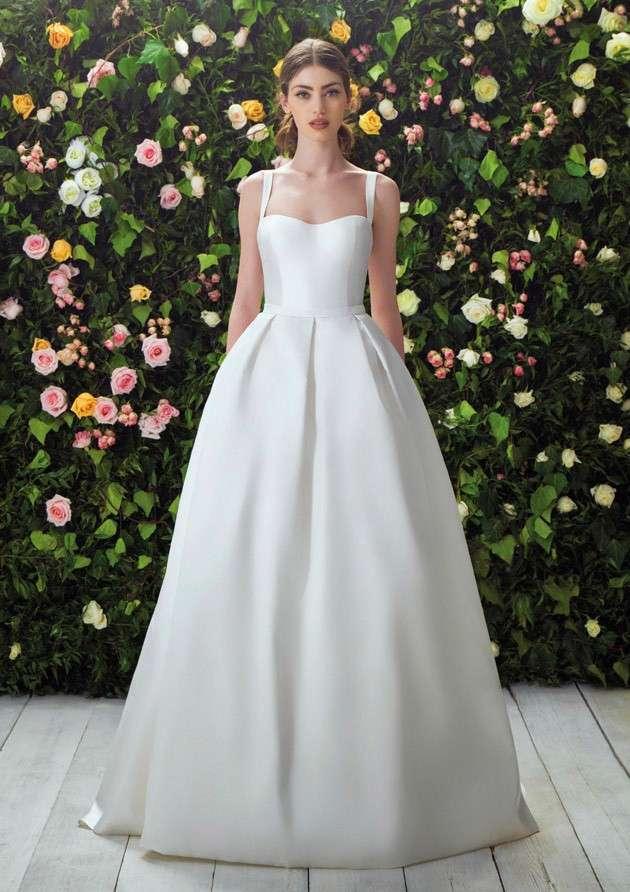 vestito da sposa in Mikado Blumarine