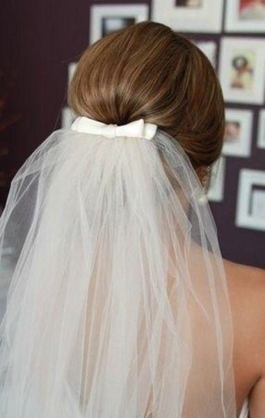 come fissare il velo da sposa