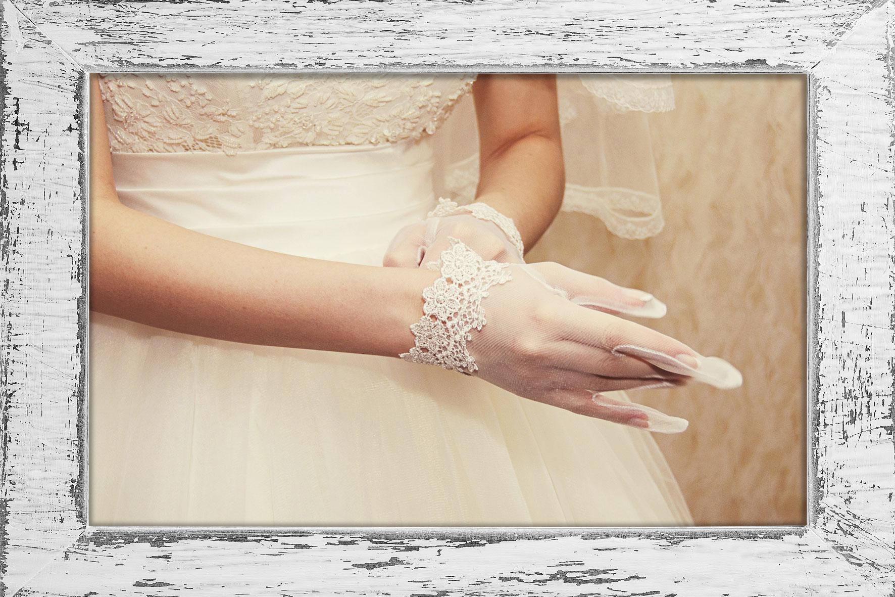 guanti corti da sposa