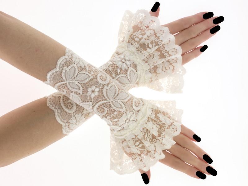 guanti da sposa alternativi in stile gotic