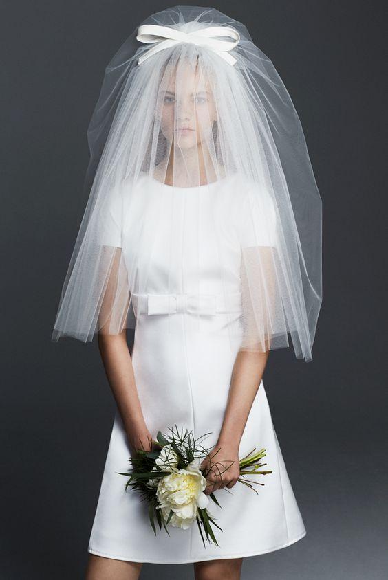 velo da sposa corto max mara