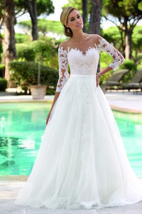 save off de5ae e99e2 Con la consulenza della Fata Madrina trovi l'abito da sposa ...