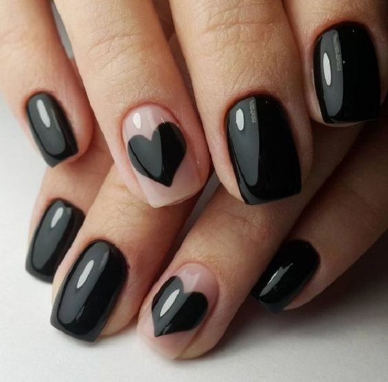 nailart sposa rock dark