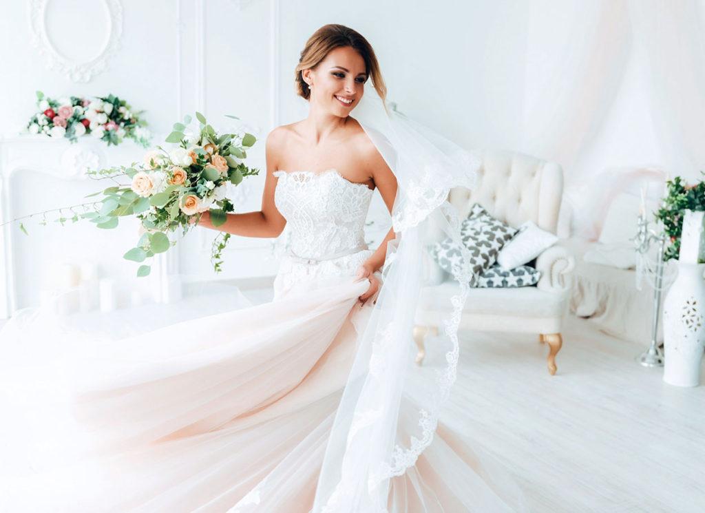 la scelta dell'abito da sposa