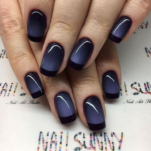 nail art sposa rock dark