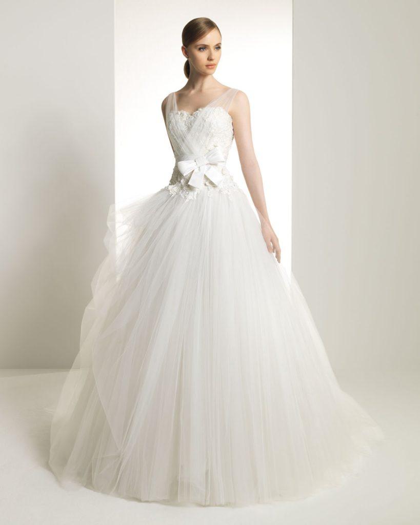 abito da sposa ampio Zuhair novia