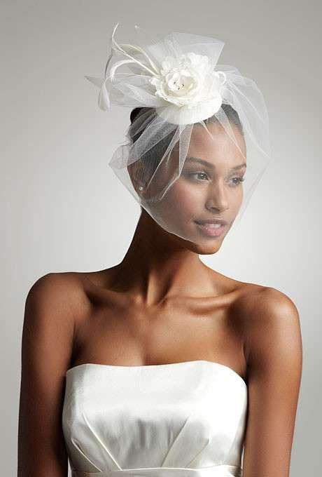 cappellino sposa con veletta