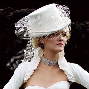 Cappello da sposa stiile amazzone