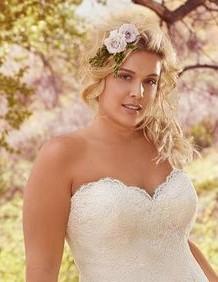 acconciatura sposa curvy