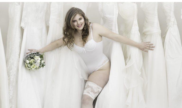 curvy lingerie sposa