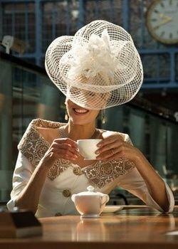 cappello sposa fashinator