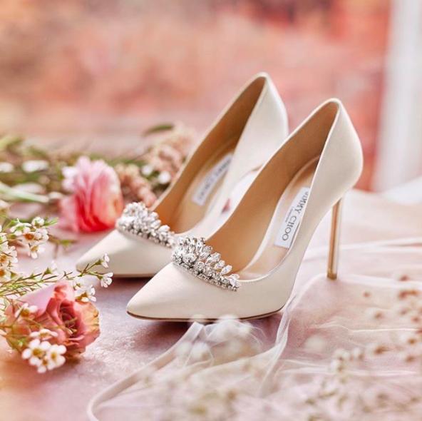 scarpe da sposa principessa jimmy choo