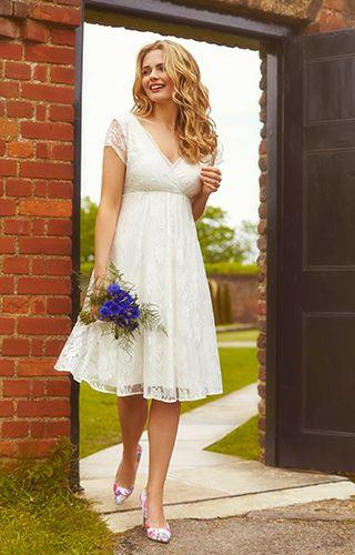 abito da sposa corto country boho