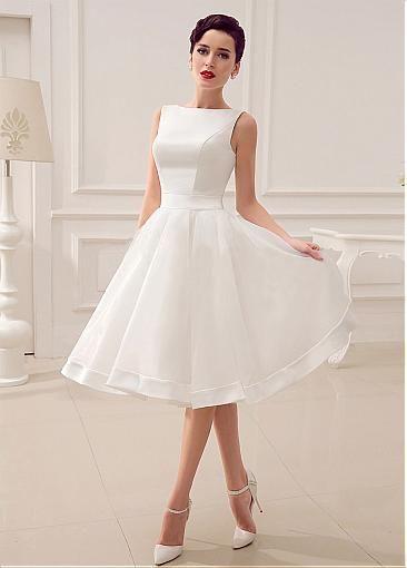 abito da sposa corto anni '50