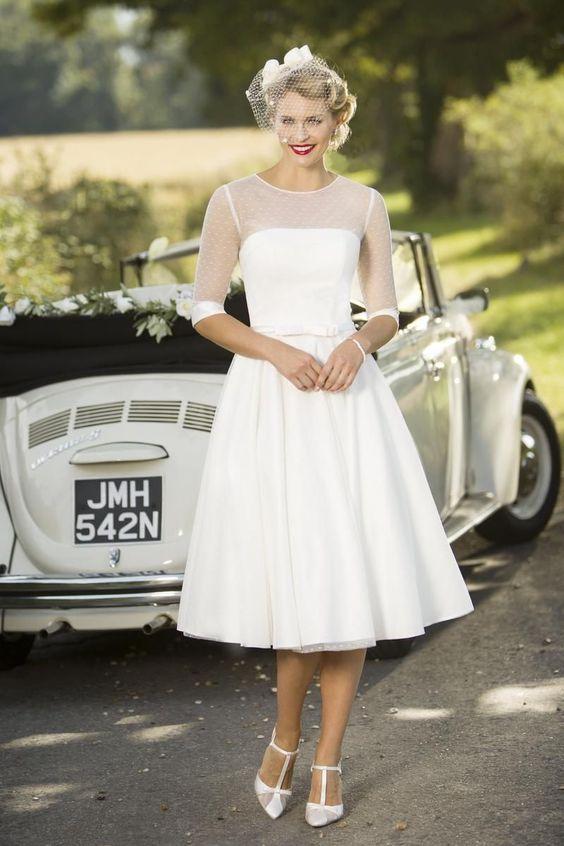 abito da sposa vintage anni '50