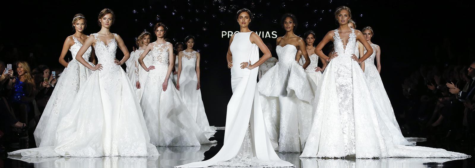 sfilata Pronovias collezione sposa
