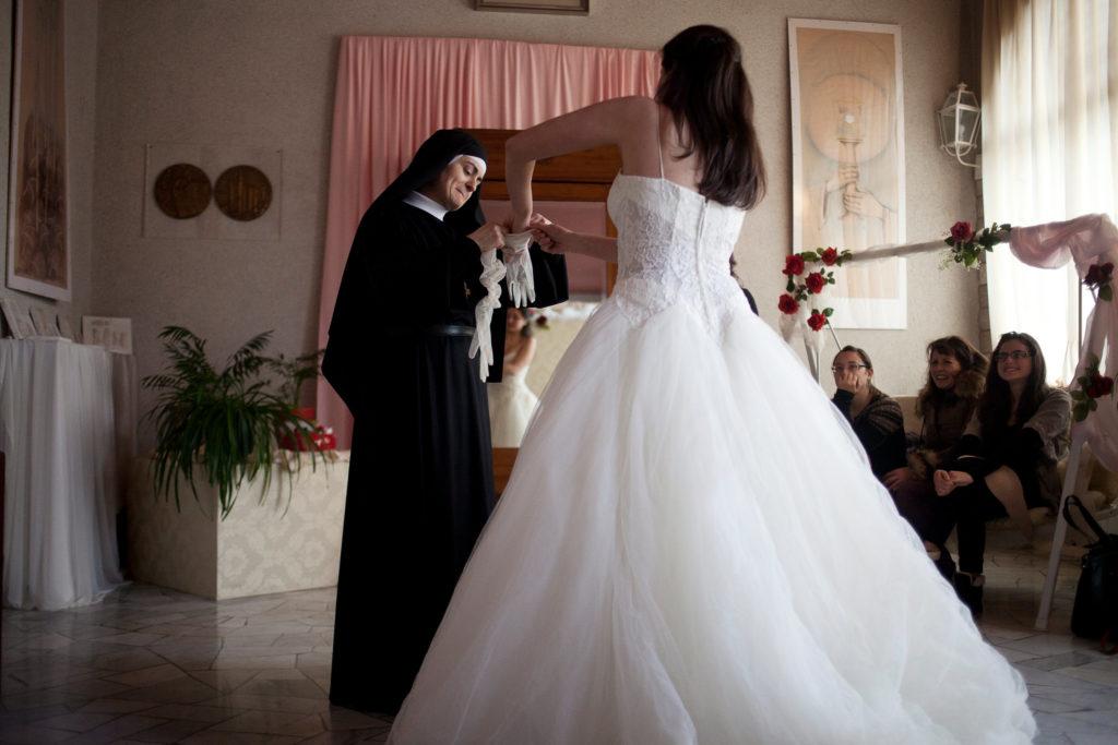 sposa al monastero di santa rita da cascia