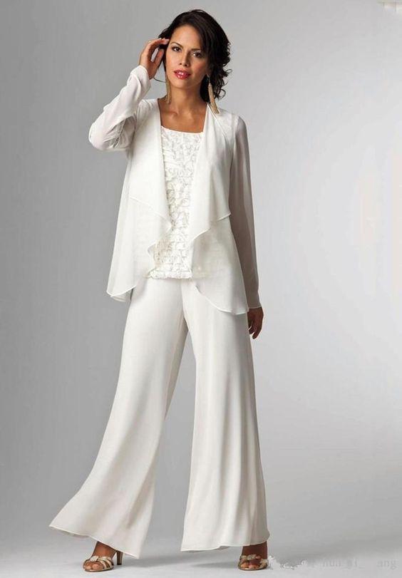 tailleur pantalone sposa