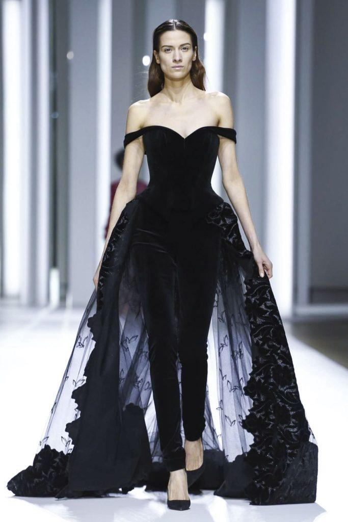 Galia Lahav abito da sposa pantalone nero
