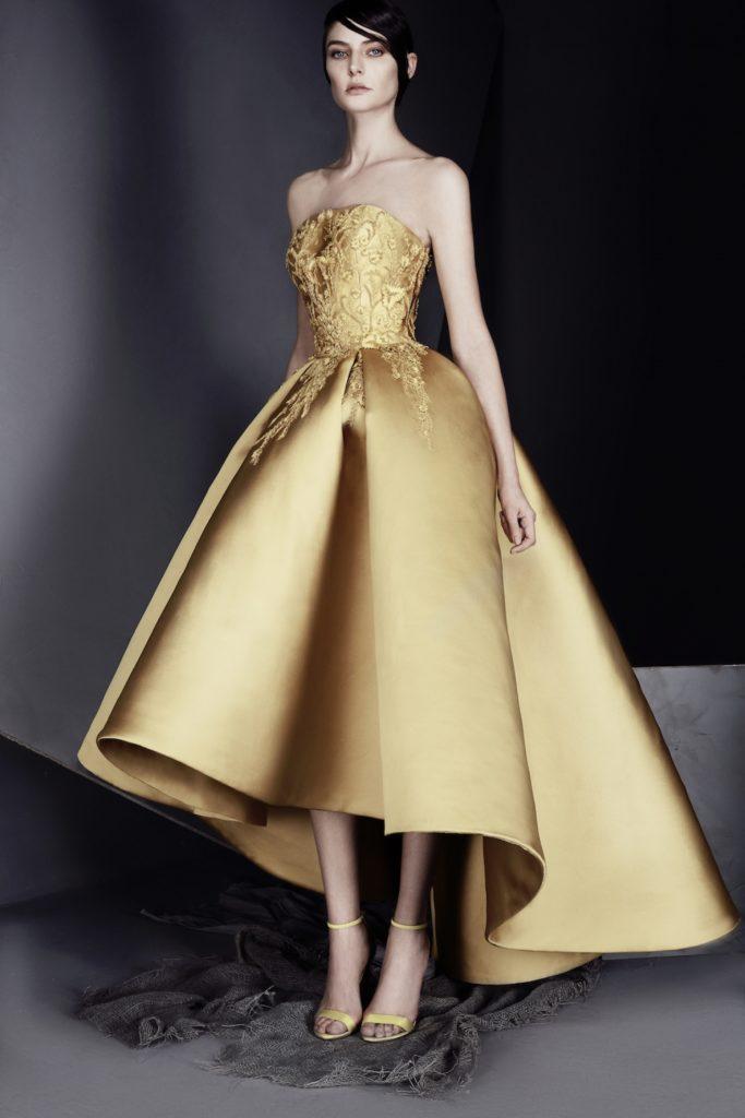 abito da sposa oro ASHI STUDIO