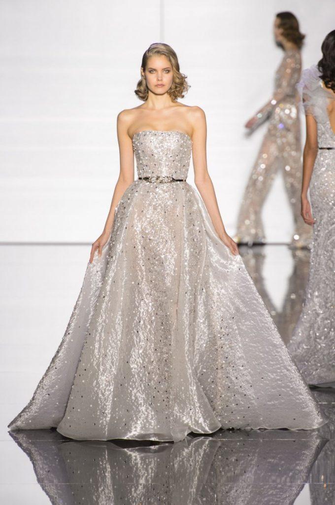 abito da sposa argento Zuahir Murad