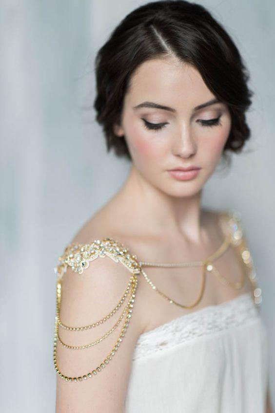 coprispalle gioiello sposa