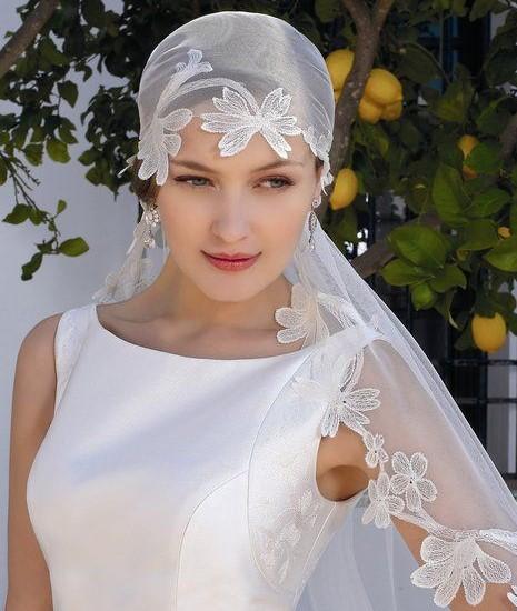 velo da sposa anni 30